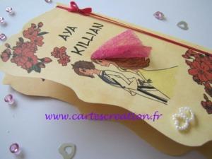 Faire-part mariage manga - cartescreation.fr