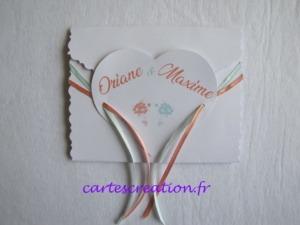 Faire-part mariage champêtre