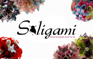 Bouquets en origami - soligami.fr - cartescreation.fr
