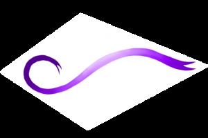 Ruban violet 2 - cartescreation.fr